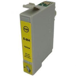 Epson T0804 sárga (yellow) utángyártott tintapatron