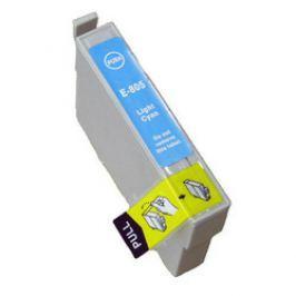 Epson T0805 világos cián (light cyan) utángyártott tintapatron Tintapatronok > Epson > Utángyártott tintapatronok