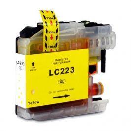 Brother LC-223XL sárga (yellow) utángyártott tintapatron