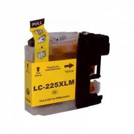 Brother LC-225XL sárga (yellow) utángyártott tintapatron