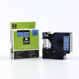 Utángyártott szalag Dymo 53716, S0720960, 24mm x 7m, fekete nyomtatás / kék alapon