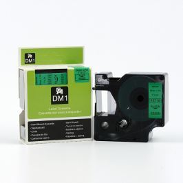 Utángyártott szalag Dymo 53719, S0720990, 24mm x 7m, fekete nyomtatás / zöld alapon