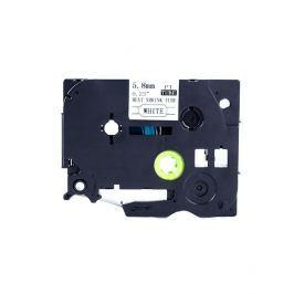 Utángyártott szalag Brother HSe-111 5,8mm x 1,5m, fekete nyomtatás / átlátszó alapon
