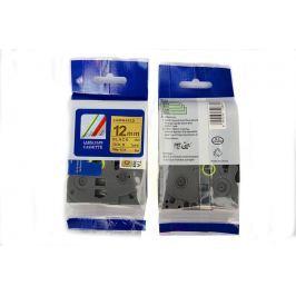 Utángyártott szalag Brother TZ-831 / TZe-831, 12mm x 8m, fekete nyomtatás / arany alapon