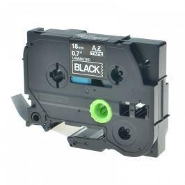 Utángyártott szalag Brother TZ-345 / TZe-345, 18mm x 8m, fehér nyomtatás / fekete alapon
