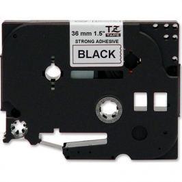 Utángyártott szalag Brother TZ-S261/TZe-S261, 36mm x 8m, erősen ragadó, fekete nyomtatás / fehér alapon