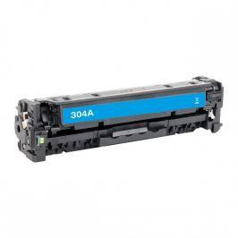 HP 304A CC531A cián (cyan) utángyártott toner