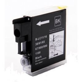 Brother LC-980/LC-1100 fekete (black) utángyártott tintapatron