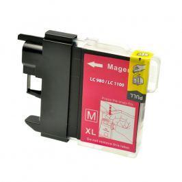 Brother LC-980/LC-1100 bíborvörös (magenta) utángyártott tintapatron Tintapatronok > Brother > Utángyártott tintapatronok