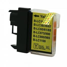 Brother LC-980/LC-1100 sárga (yellow) utángyártott tintapatron Tintapatronok > Brother > Utángyártott tintapatronok