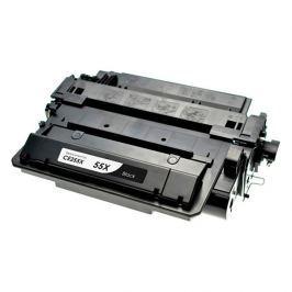 HP 55X CE255X fekete (black) utángyártott toner Tonerek > HP > Utángyártott tonerek
