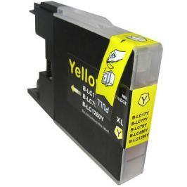 Brother LC-1240 / LC-1280 sárga (yellow) utángyártott tintapatron