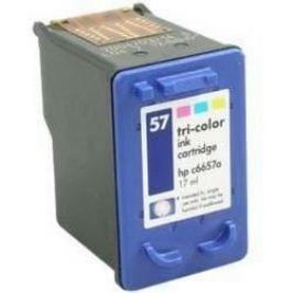 HP 57 C6657A színes utángyártott tintapatron