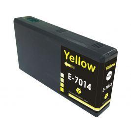 Epson T7014 sárga (yellow) utángyártott tintapatron