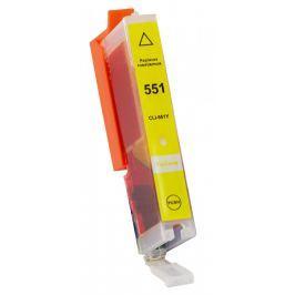 Canon CLI-551XL sárga (yellow) utángyártott tintapatron