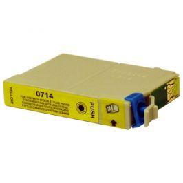 Epson T0714 sárga (yellow) utángyártott tintapatron