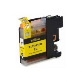 Brother LC-125XL/LC-127XL sárga (yellow) utángyártott tintapatron