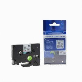 Utángyártott szalag Brother TZ-231 / TZe-231, 12mm x 8m, fekete nyomtatás / fehér alapon