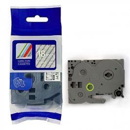 Utángyártott szalag Brother TZ-145 / TZe-145, 18mm x 8m, fehér nyomtatás / átlátszó alapon