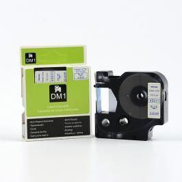 Utángyártott szalag Dymo 45011, S0720510, 12mm x 7m kék nyomtatás / átlátszó alapon