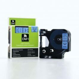 Utángyártott szalag Dymo 45016, S0720560, 12mm x 7m fekete nyomtatás / kék alapon