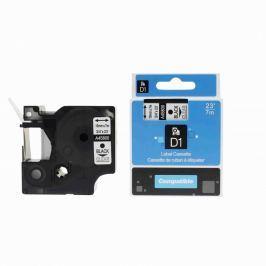 Utángyártott szalag Dymo 45800, S0720820, 19mm x 7m, fekete nyomtatás / átlátszó alapon