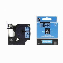 Utángyártott szalag Dymo 45806, S0720860, 19mm x 7m, fekete nyomtatás / kék alapon Utángyártott