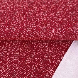 Szabadidő anyag Tiny dots red