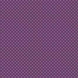 Pamutvászon Petit dots purple