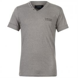 Firetrap Striding V Neck T Shirt Mens