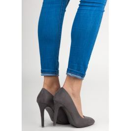 SUEDE COURT SHOES