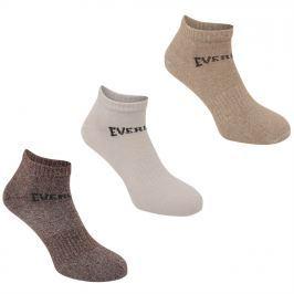 Everlast 3 Pack Trainer Socks Mens