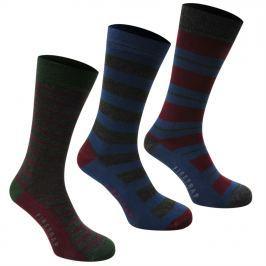 Firetrap 3 Pack Formal Socks Mens