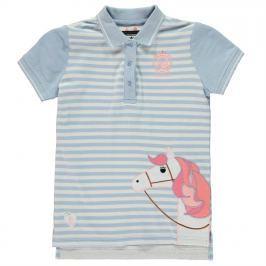 Requisite Applique Polo Shirt Junior Girls