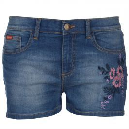 Lee Cooper Cooper Embroidered Shorts Ladies