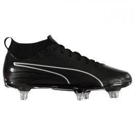 Puma EvoKnit SG Football Boots Junior Boys