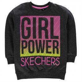Skechers Graphic Crew Sweatshirt Junior Girls