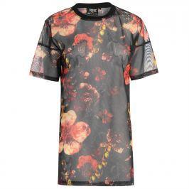 Everlast Patterned Mesh T Shirt Ladies