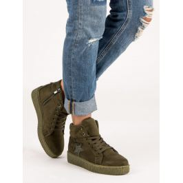 SUEDE SNEAKERS CREEPERSY