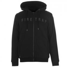 Firetrap Lined Zipped Hoodie Mens