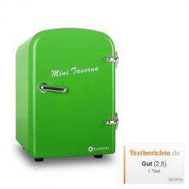 Klarstein Mini Taverna, hűtőszekrény, 4 l, zöld