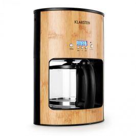 Klarstein Bamboo Garden kávéfőző, időzítő, 1080 W, 1,25 l