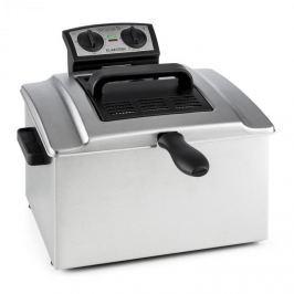 Klarstein QuickPro XXL 3000 fritőz, 3000 W, 5L, 1,5 kg, időzítő, rozsdamentes acél