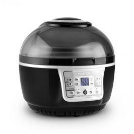 Klarstein VitAir Turbo meleglevegős fritőz, 1400 W, 9 l, grillezés, sütés, szürke-fekete