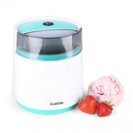 Klarstein Bacio Azzuro,fagylalt gyártó gép,0,8 l,kék-fehér