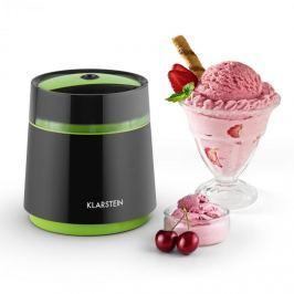 Klarstein Bacio Nero, 0,8l, fekete-zöld, fagylaltkészítő gép