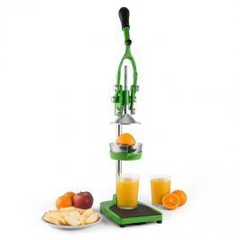 Klarstein TriJuicer, zöld, gyümölcsprés, hasábvágó, almaszeletelő