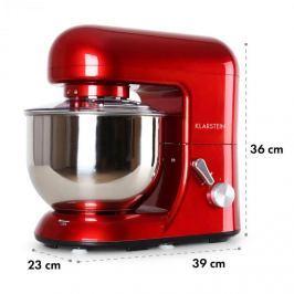 Klarstein KLARSTEIN BELLA ROSSA, piros, robotgép, 1200 W, 1,6 PS, 5 literes