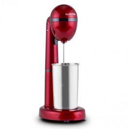 Klarstein van Damme italkeverő mixer, 100 W, 450 ml, rozsdamentes acél pohár, piros