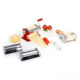 Klarstein Siena Rossa, piros, Pasta Maker, tésztakészítő, 3 kiegészítő